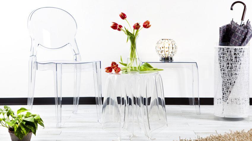 Mesas de comedor de cristal deslumbrantes westwing - Mesas comedor originales ...