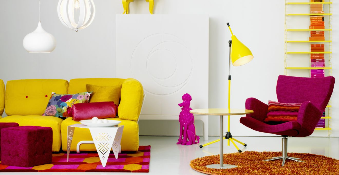 Muebles Pop Art Da Color Y Vida A Tus Muebles Westwing # Muebles Geometricos
