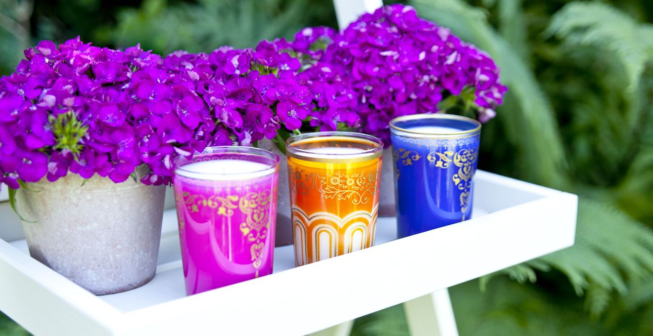 Colores para patios: ideas