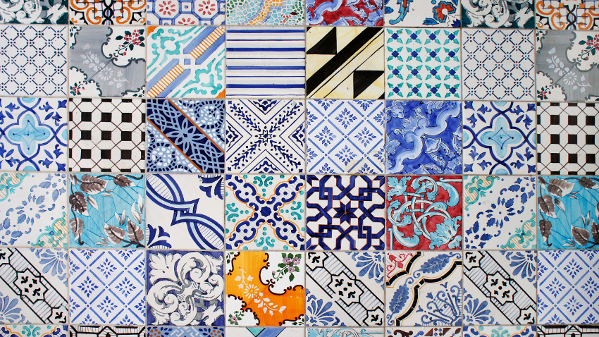 Azulejos para patios paredes decoradas westwing for Mosaicos para exterior