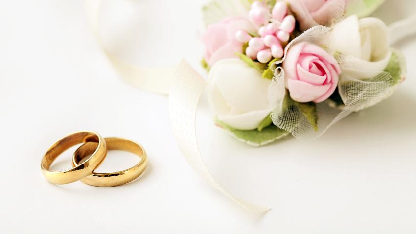 Cojines para anillos para bodas
