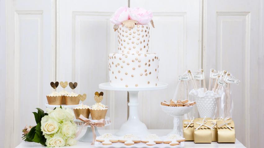 Tartas de boda, el momento más dulce