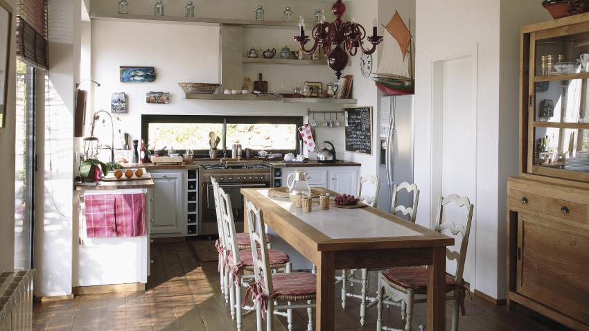 Cojines para sillas de cocina cambio de look westwing for Cocinas camperas rusticas