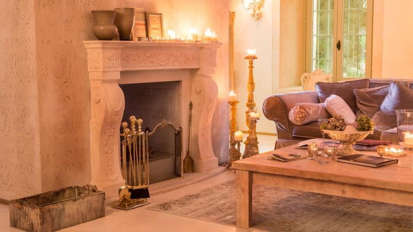 Comedor con chimenea: romántico y familiar | WESTWING