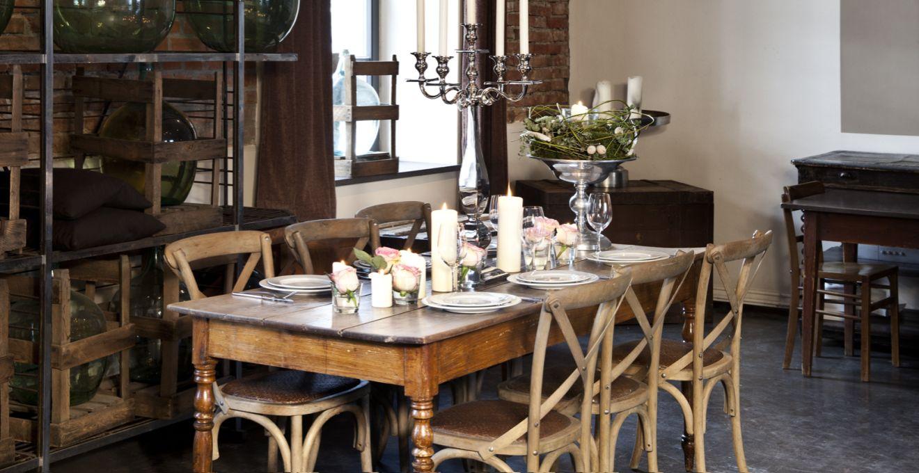 Comedor vintage recuerda el pasado WESTWING