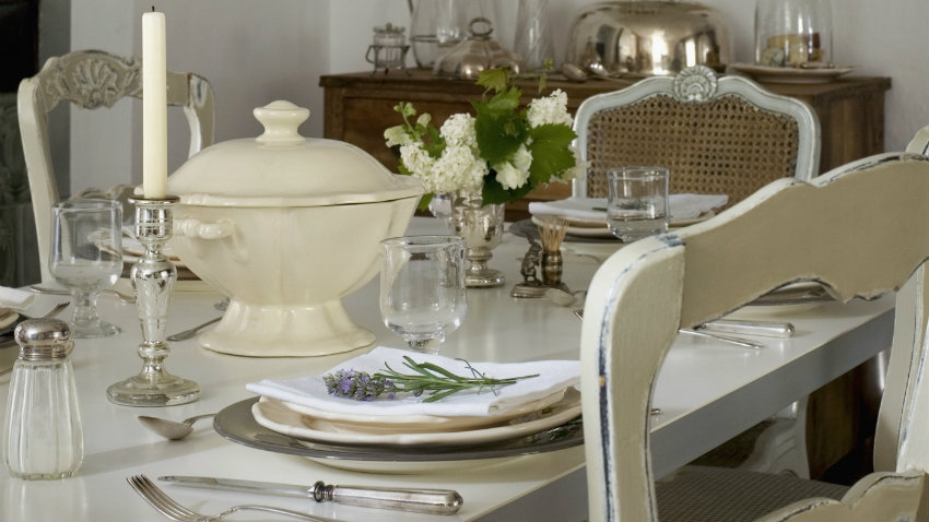 Comedores cl sicos trucos para decorar westwing for Cortinas para comedor clasico