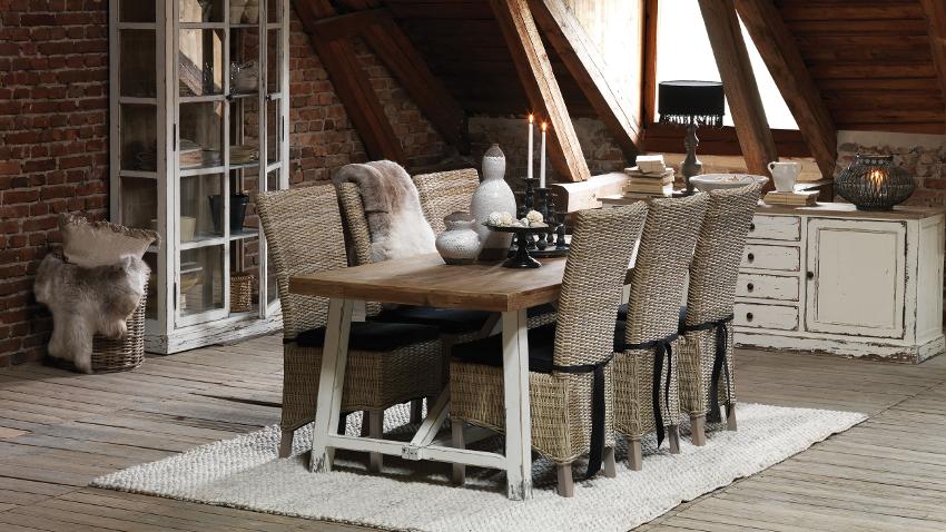Comedores de madera c lidez y elegancia westwing for Mesas de comedor coloniales