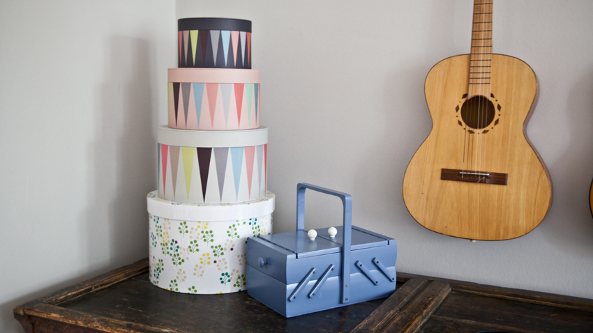 Cajas de almacenaje decorativas