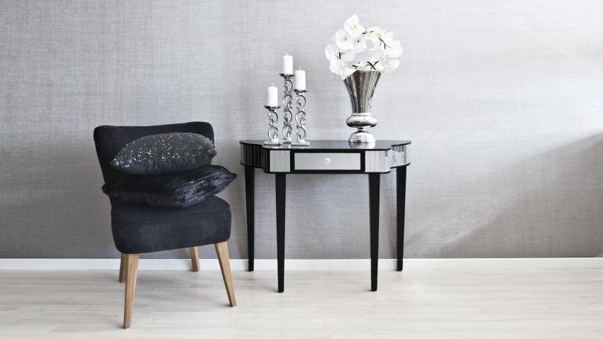 Mesa de recibidor tu casa la bienvenida ideal westwing for Mesa cristal westwing