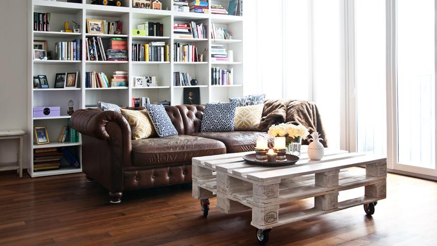 mesas de centro diy muebles creativos westwing
