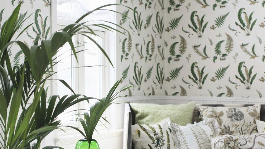 Papel pintado de bamb la naturaleza en casa westwing - La casa del papel pintado ...