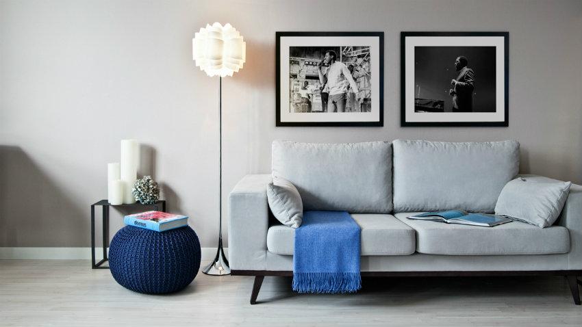 Salón gris, ideas y estilos