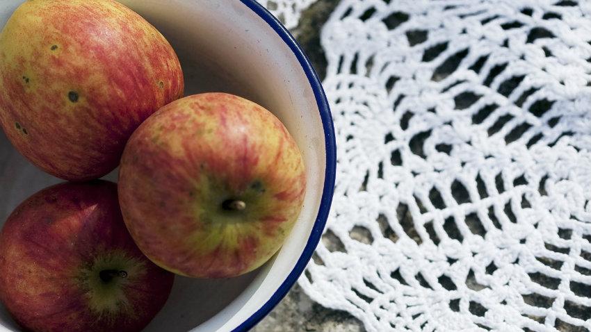 Cortador de manzanas