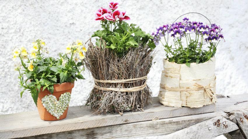 Macetas vintage viste tus flores con gusto westwing for Decoracion jardin macetas