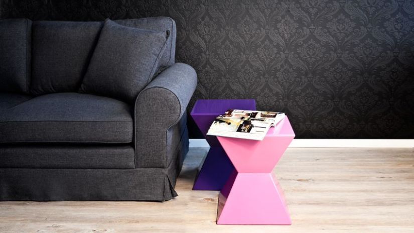 Petite table de salon design