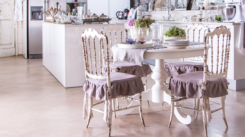 Chaise De Cuisine Style Rustique Chic