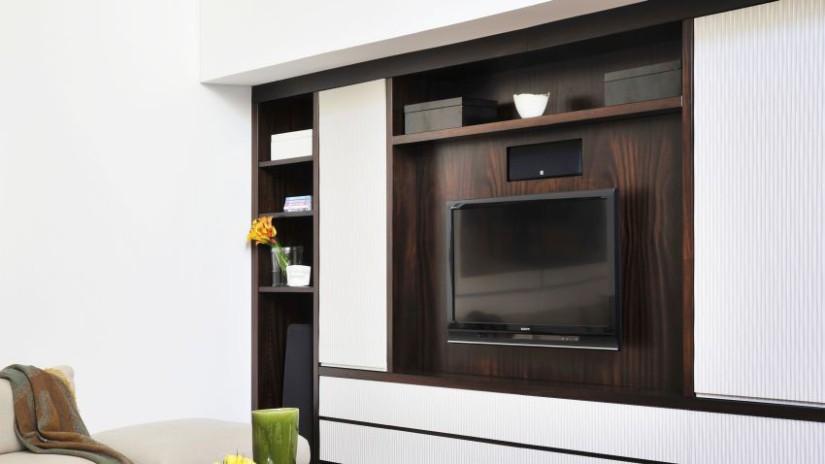 Meuble tv pour votre quipement high tech westwing for Meuble a suspendre pour salon