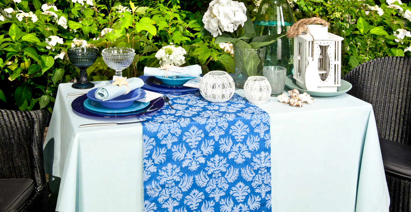 Nappe turquoise