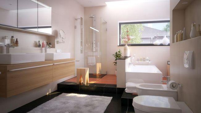 Salle de bain italienne moderne