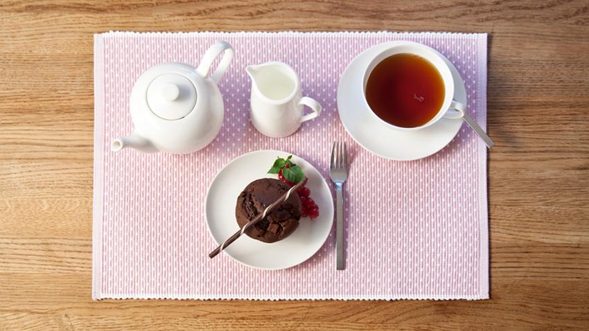 Set de table rose