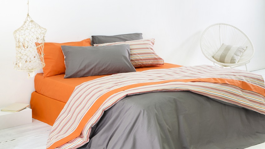 Housse de couette orange ventes priv es westwing for Housse de couette grise 240x260