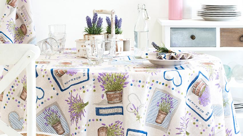 nappe ronde l 39 habit parfait pour votre table westwing. Black Bedroom Furniture Sets. Home Design Ideas