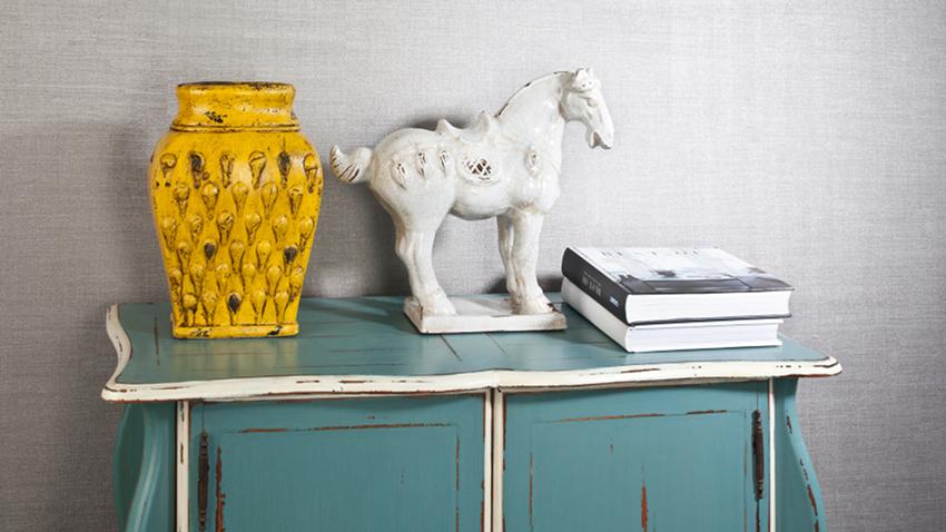 Vase jaune