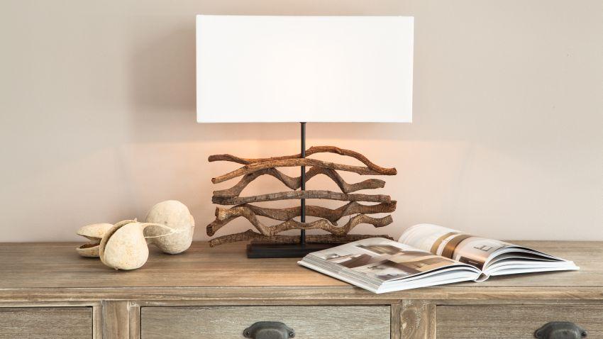 lampe bois un luminaire au fort caract re westwing. Black Bedroom Furniture Sets. Home Design Ideas