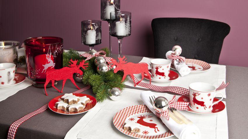 Chemin de table Noël