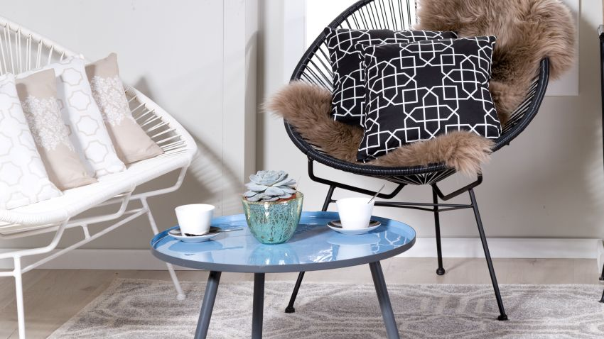 Table bleue