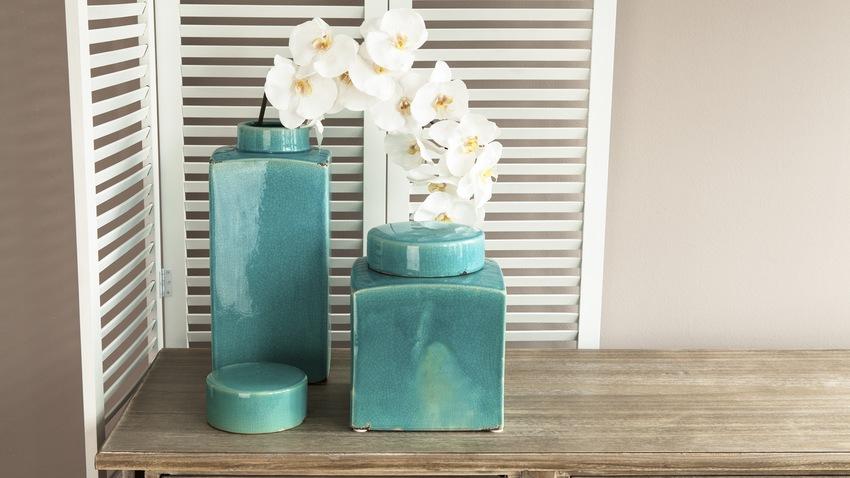 Vase carré