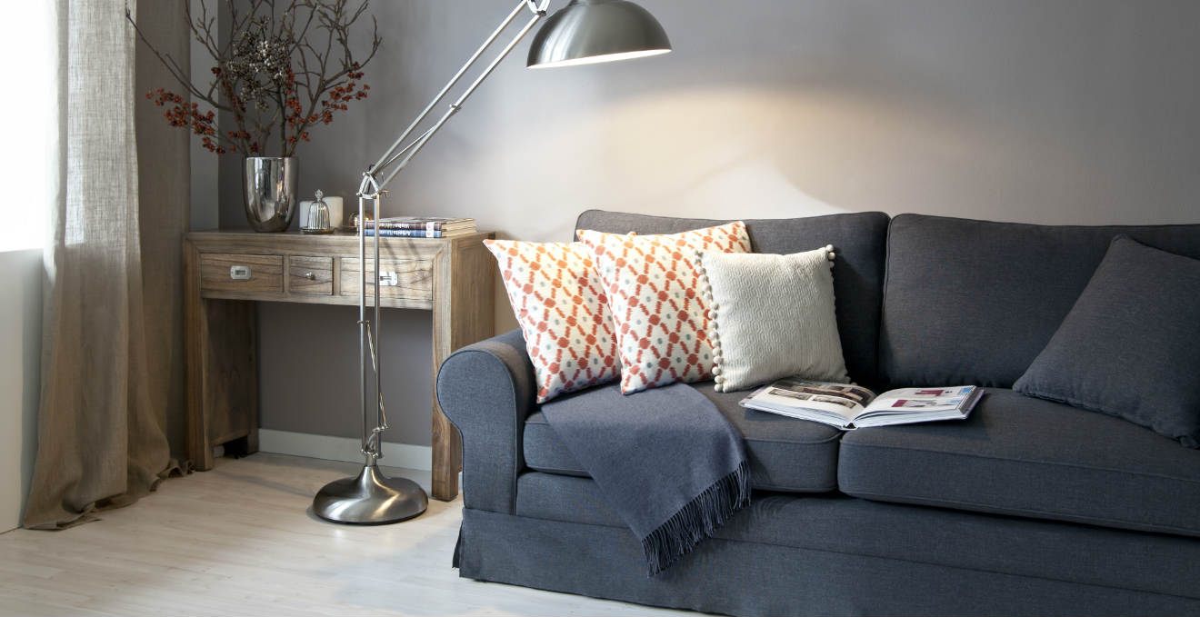 Copridivano moderno accessori di stile per il living - Copridivano per divano in pelle ...