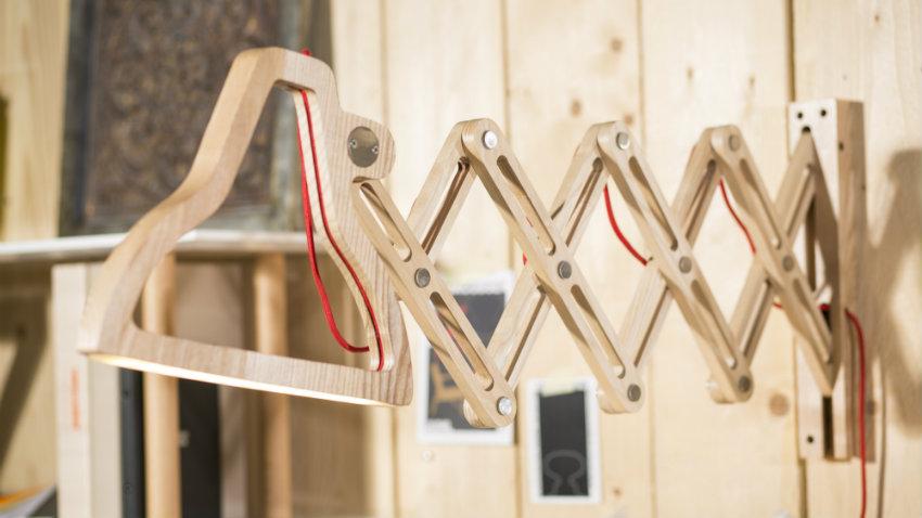 Applique di design la lampada da parete moderna dalani for Applique da parete legno
