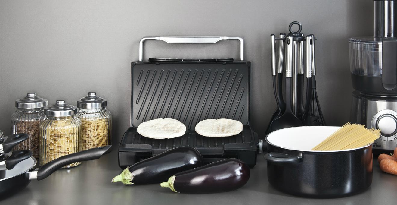 Piastra grill elettrica mangiare con gusto tutto l 39 anno for Piastra elettrica portatile