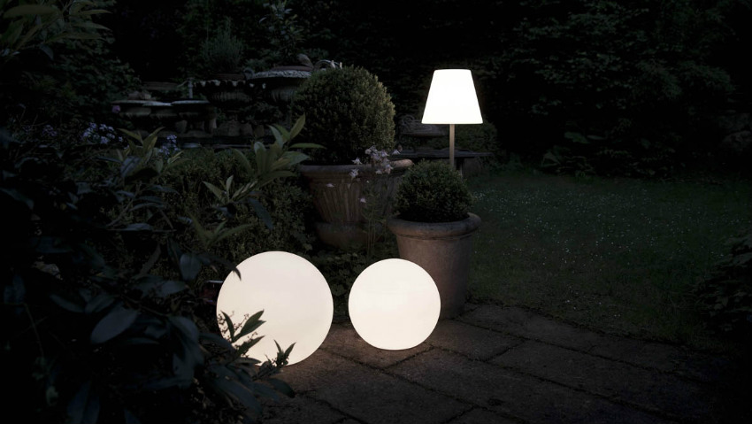 Plafoniere Da Giardino : Applique da esterno