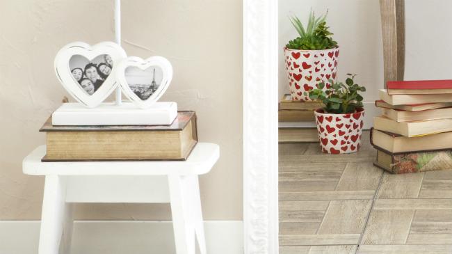 regali per san valentino cornice a forma di cuore
