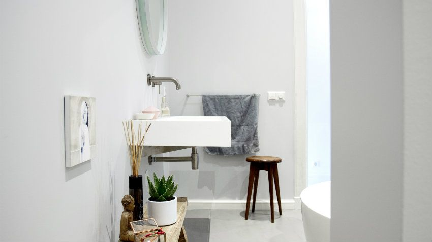 Bagno Stile Minimalista : Accessori bagno stile minimal moderni