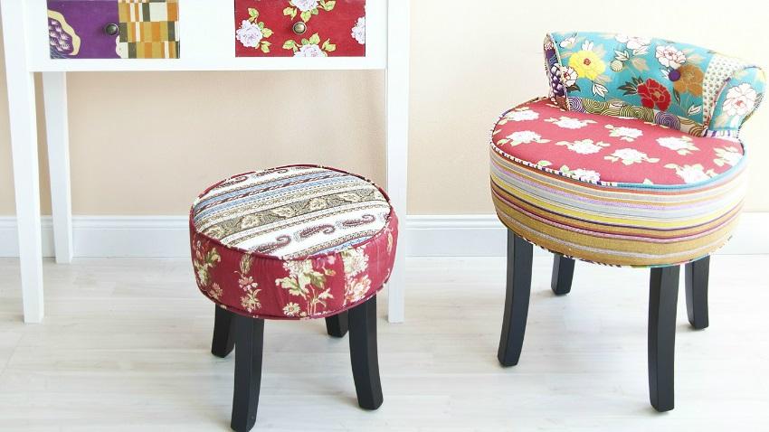 Sedie per i bambini allegre simpatiche e colorate