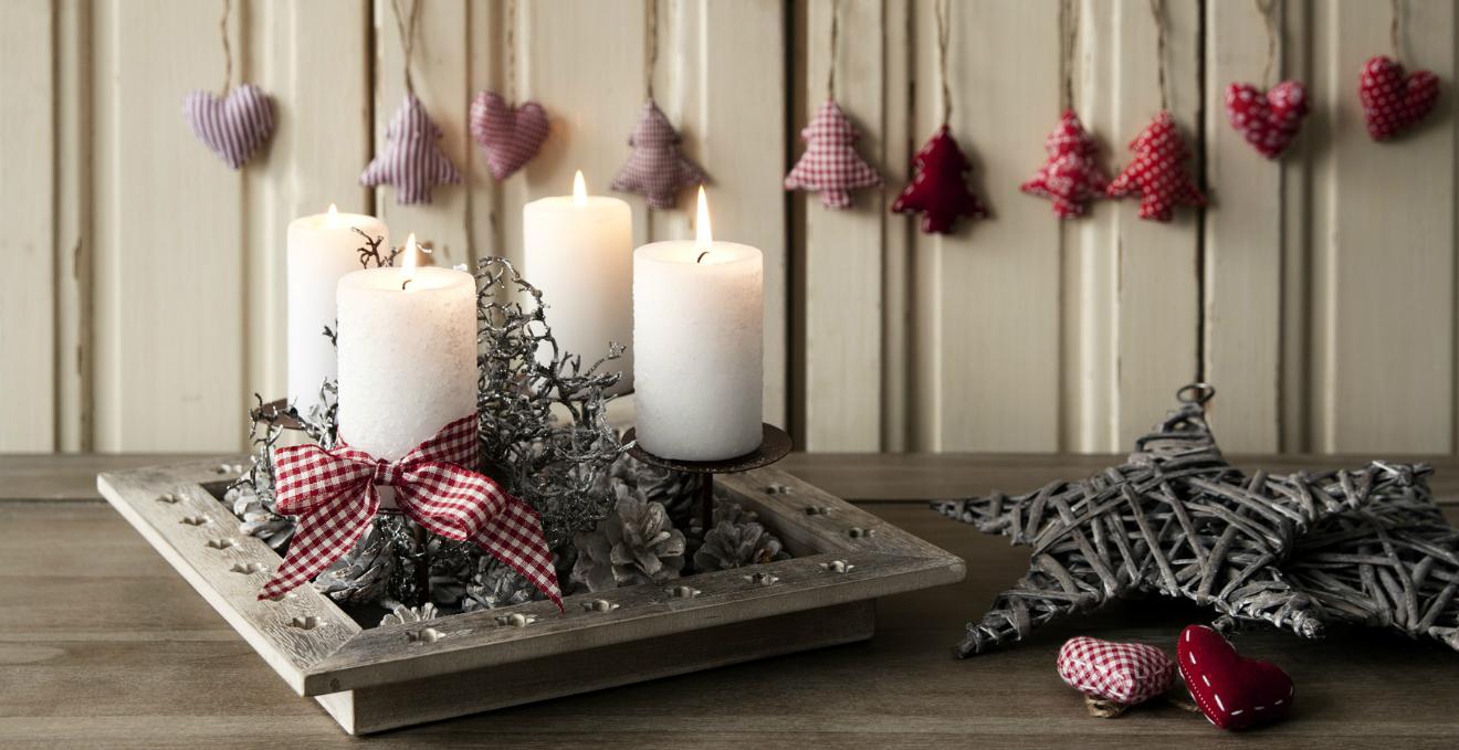 Decorazioni Per Casa Natalizie : Decorazioni di natale gli addobbi per la tavola e per la casa