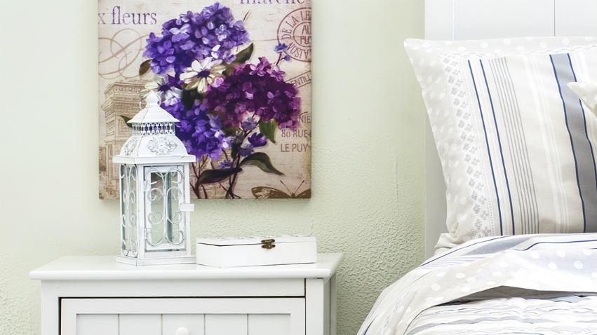 Stampe floreali un tocco di primavera alle pareti - Stampe camera da letto ...