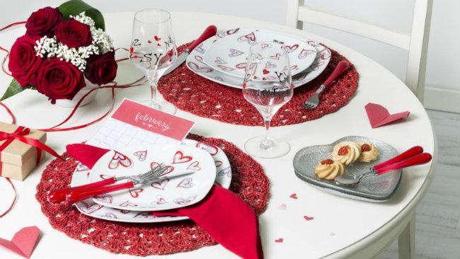 Tavola di san valentino come apparecchiarla dalani e - Tavola di san valentino ...