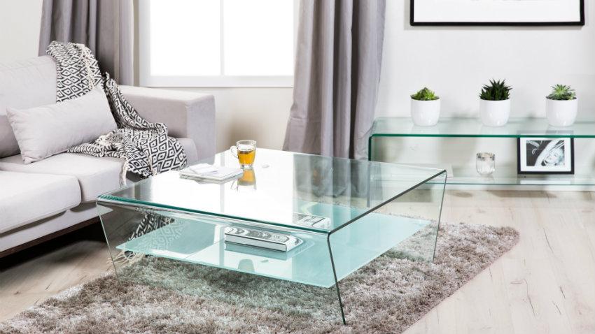 Tavoli di cristallo: preziosa eleganza in salotto - Dalani e ora ...