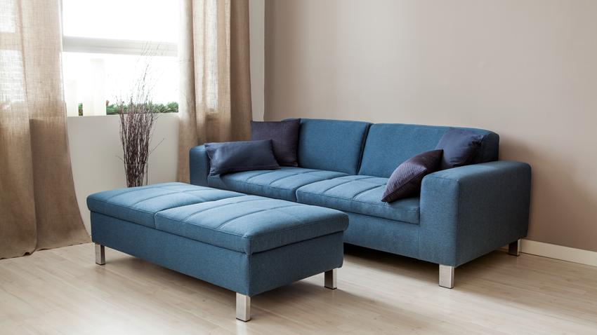 Divano blu: il colore del mare nel soggiorno - Dalani e ora Westwing