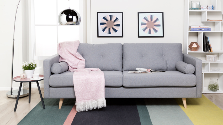 DALANI | Divano grigio: comfort e stile in salotto