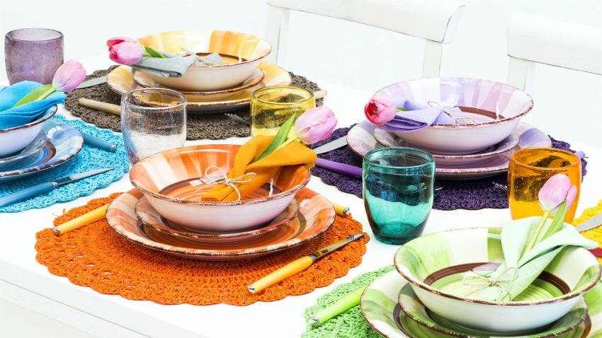 Favorito Sottopiatti in feltro: allegria a tavola | DALANI SZ56