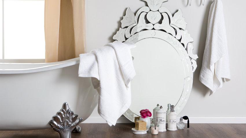 Tende per il bagno delicate decorazioni dalani e ora for Accessori bagno dalani