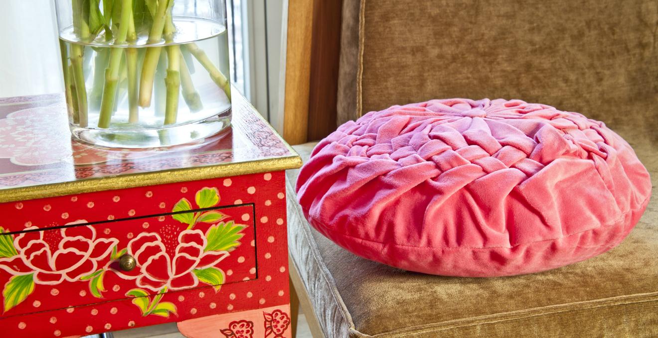 Cuscini rossi