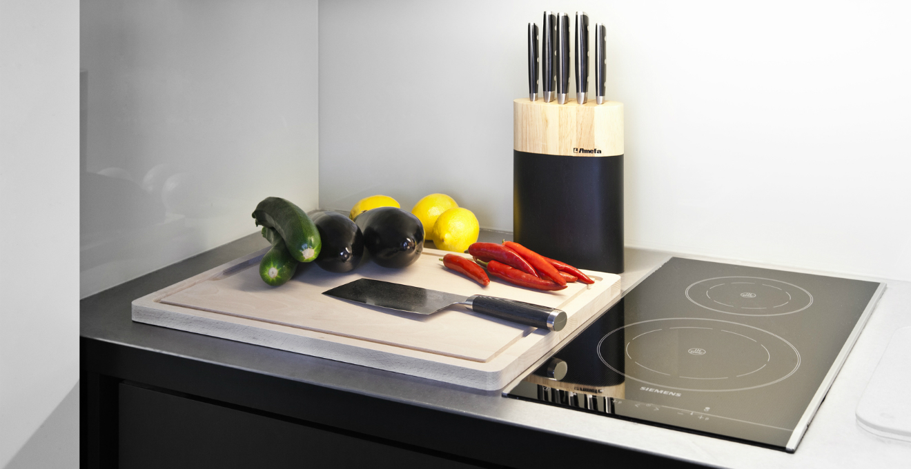 DALANI |Tagliere in legno: comodo e pratico utensile da cucina