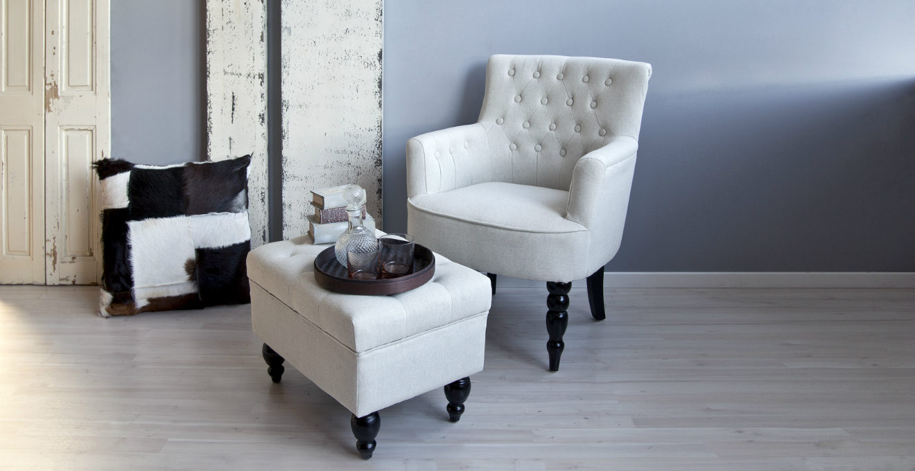 DALANI | Poltrona bianca: eleganza e comfort