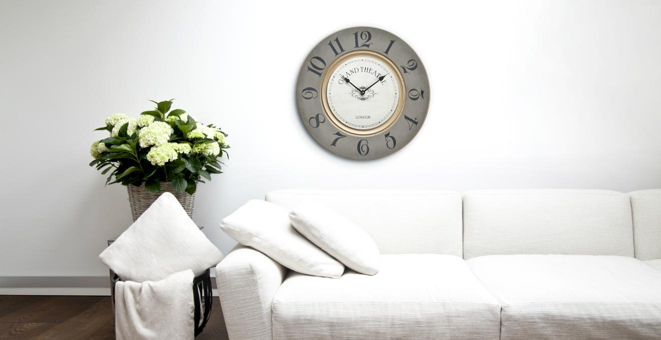 Orologi da parete grandi: stile e design in casa - Dalani e ora Westwing